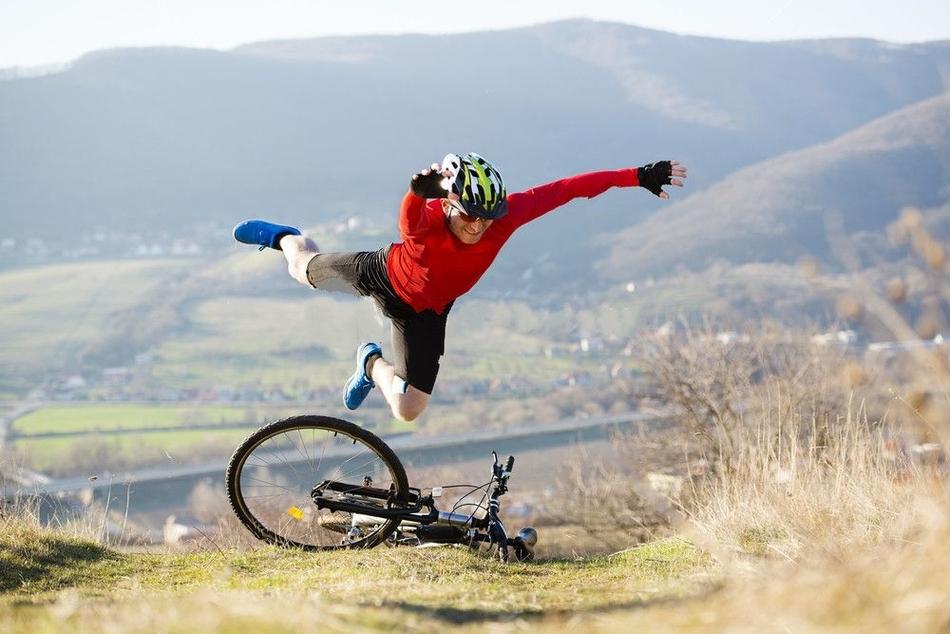 mountain biking accidents